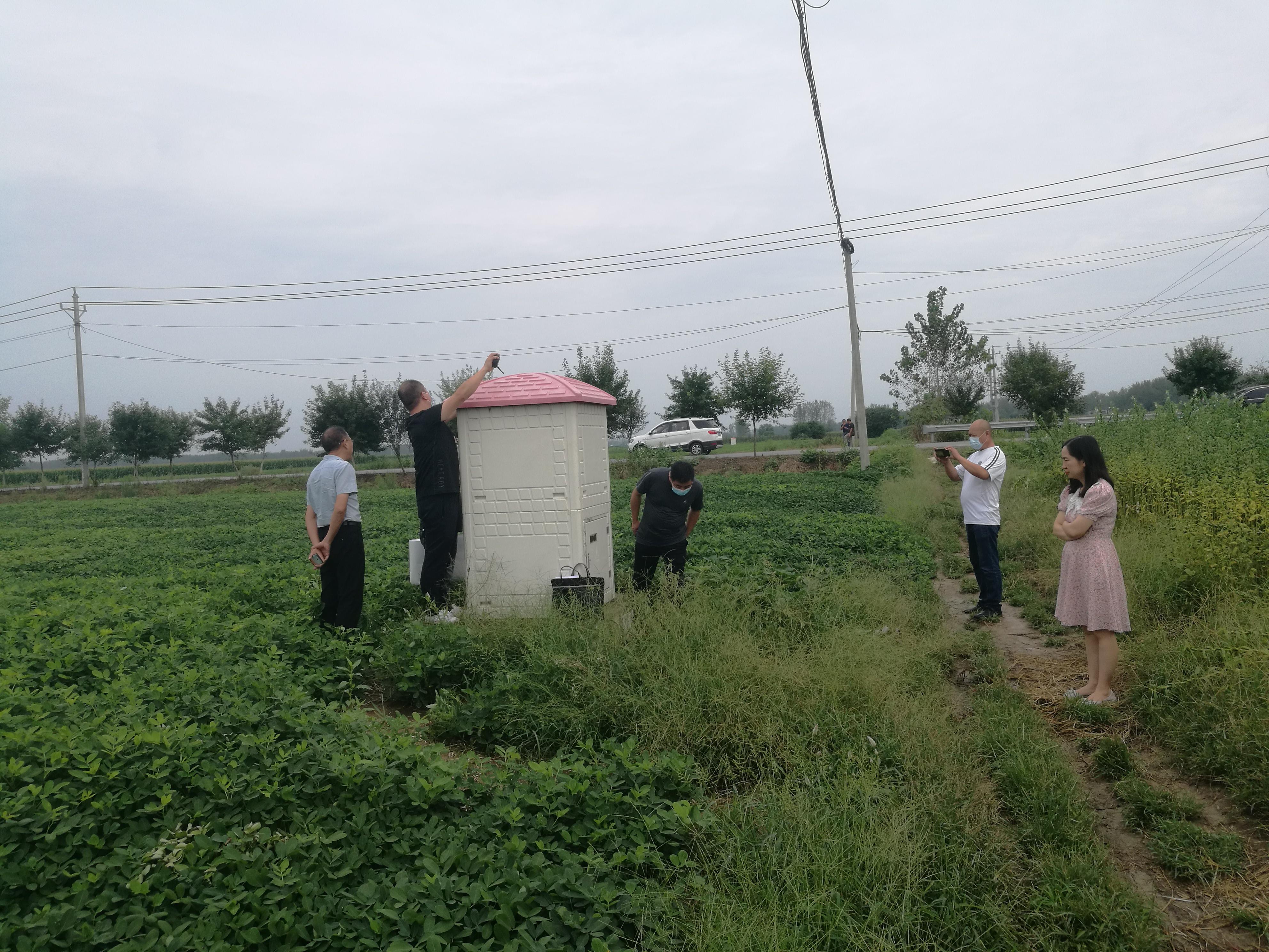 实地查看高标准农田项目机井工程建设情况.jpg