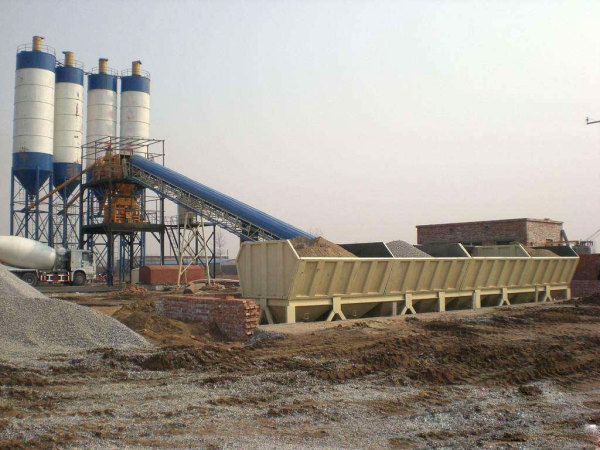 HZS120混凝土搅拌站