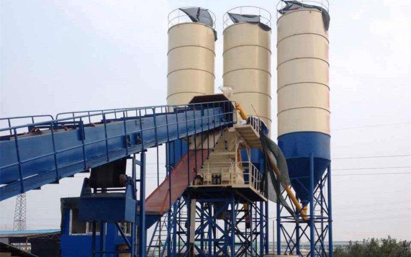 湖南永州环保型120混凝土搅拌站