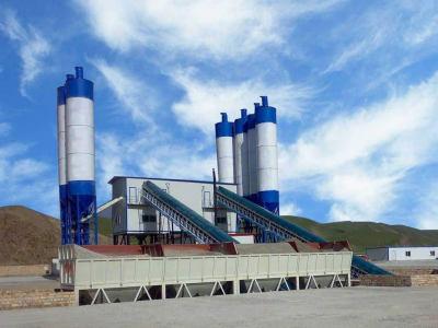 抚远市大型双HZS120环保工程搅拌站