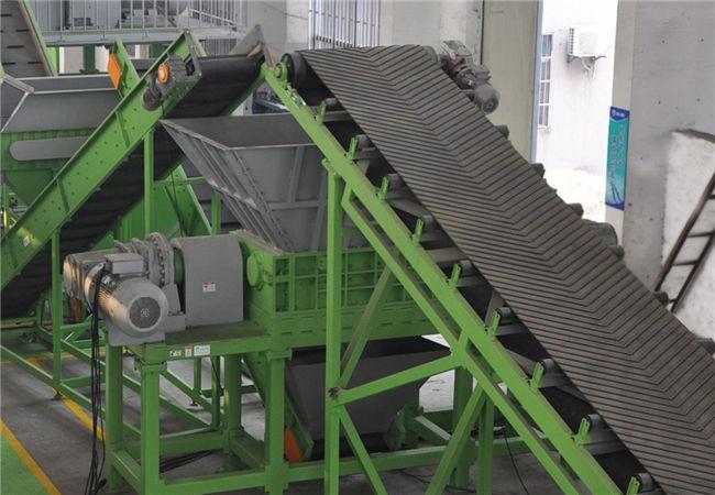 造紙廠垃圾破碎分選生產線