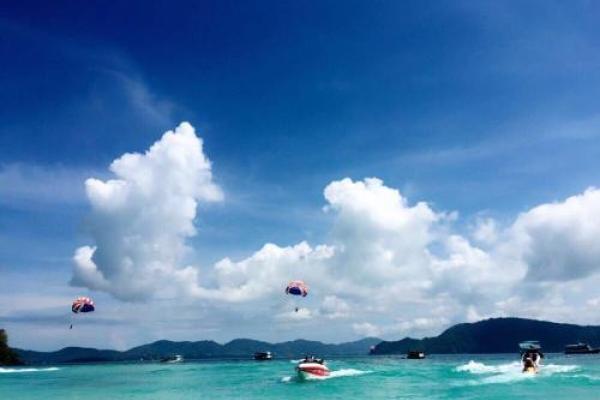 郑州直飞泰国曼谷芭提雅珊瑚岛金沙岛泰狮航双岛欢畅5