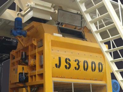 JS3000混凝土攪拌機
