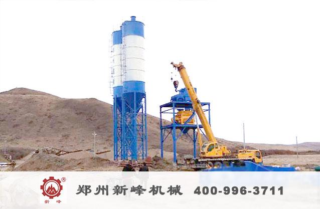 四川HZS120混凝土永利国际设备安装实例.jpg