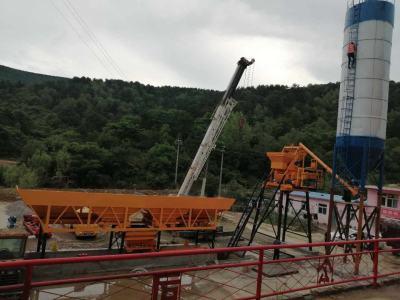 新峰hzs50混凝土攪拌站出口巴基斯坦