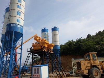 HZS50混凝土攪拌站