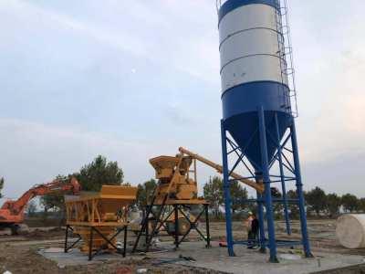 HZS25混凝土攪拌站