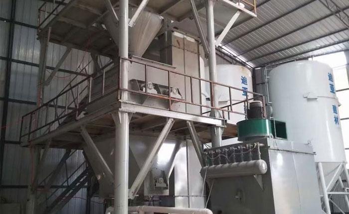 10万吨预拌砂浆生产线