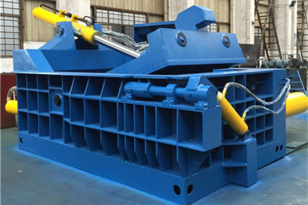 Metal baler machine