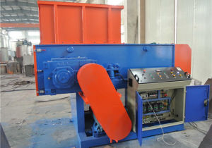 Single shaft shredder machine