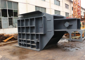 Pig iron crusher machine