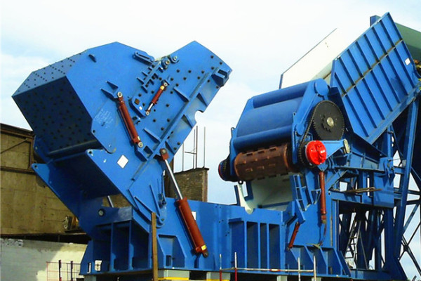 scrap steel hammer shredder machine