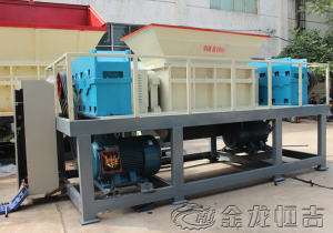 Plastic film shredder machine