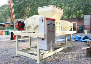 dual shaft shredder machine